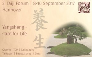 Online Registration Taiji Forum 2017 now activated