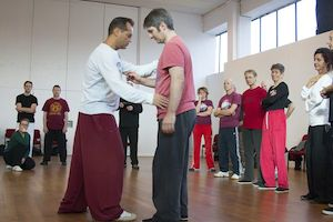 Gianfranco Pace teaching