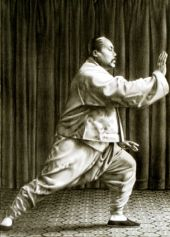 Yang Chengfu yang style, pencil drawing by Matthias Wagner