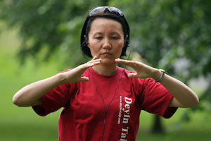 The interview with Faye Yip part 5 - QIGONG (and Kids Wushu)