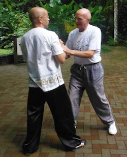 Often, people stop practising Tuishou as they age