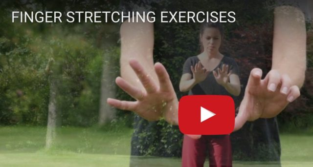 FINGER STRETCHING EXERCISES