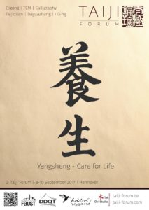 Taiji Forum 2017 - Yangsheng – Care for Life