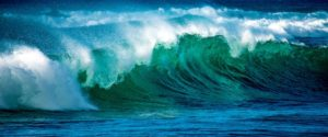 Many drops of water may form a big wave